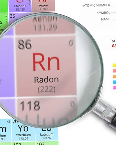 Radon on Chart